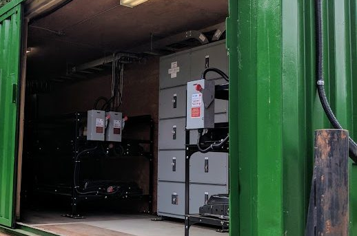 200 kWh Battery System designed and installed to supply  uninterruptible power